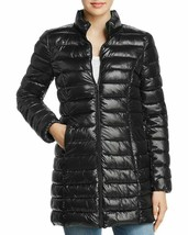 Aqua Women's Black Puffer Packable Fall/Winter Coat Jacket size Small New w Tags image 1