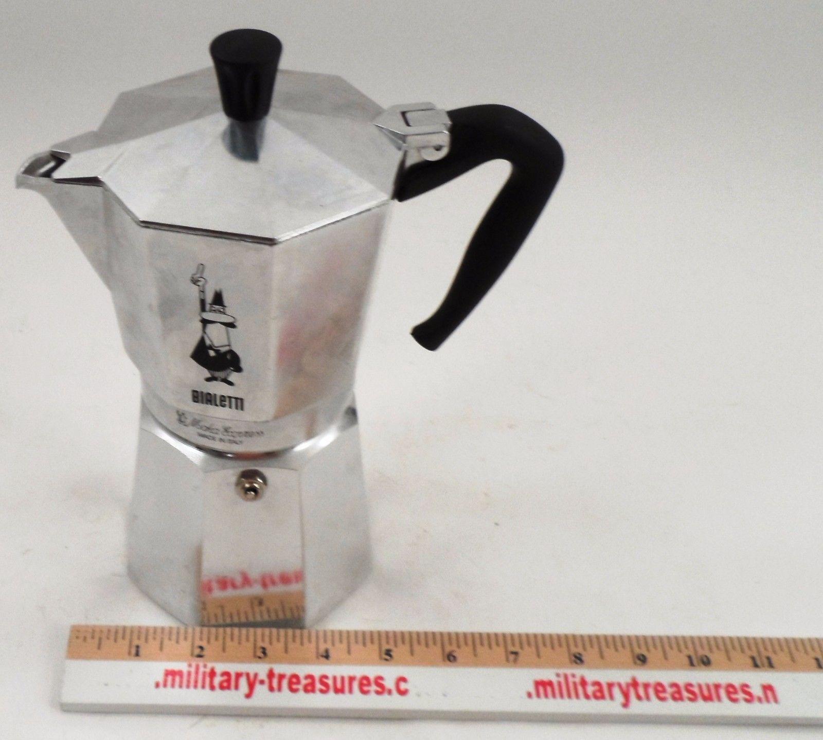 Vguc Classic Bialetti Moka Express 3 Cup Stovetop Espresso Machine