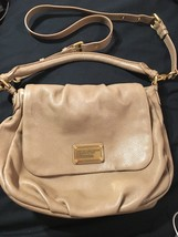 EUC Marc By Marc Jacobs NEW Q Lil Ukita Taupe/Beige/Brown Leather Should... - $163.57