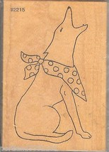 Comotion Rubber Stamp #2215 Majestic Coyote EX LG New S18 - $15.47