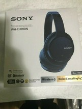 Sony WH-CH700N Wireless Noise-Canceling Over-Ear Headphones Blue-Brand New