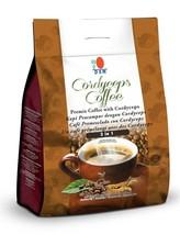 15 Packs DXN Cordyceps Coffee 3 in 1 Cordyceps Sinensis Instant Cafe Exp... - $182.85