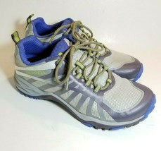 Merrell Womens Siren Edge Q2 Vapor J41324 Athletic Hiking Sneakers Gray ... - $38.60