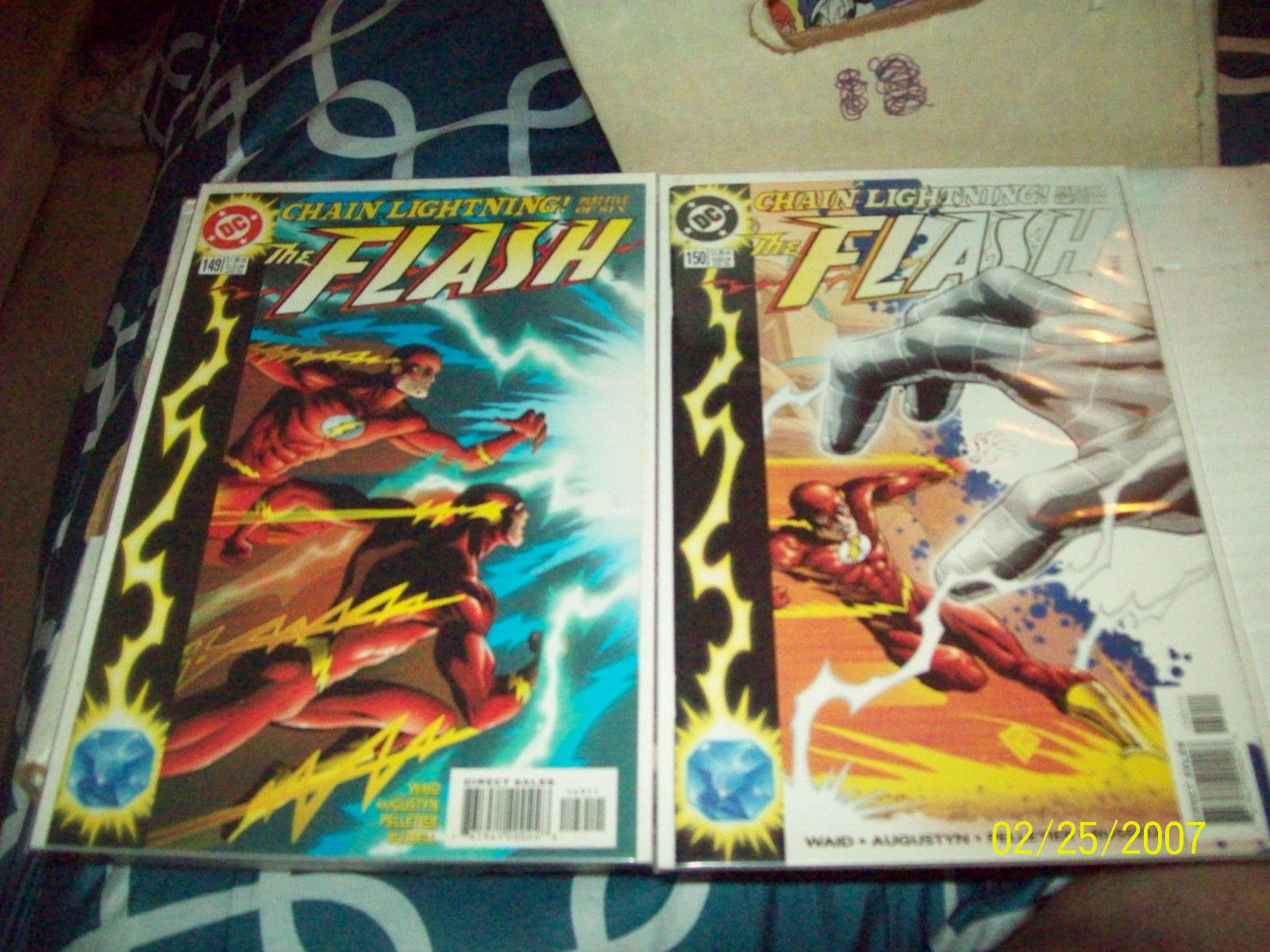 FLASH (2ND SERIES) #145, 146, 147, 148, 149, 150, 151, 152, 154, 161, 162,