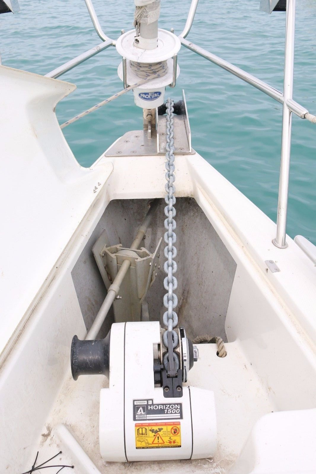 """60 ft 3//8/"""" BBB DIN766 Marine Anchor Chain 144 µm Micron Thick Galvanized Boat"""