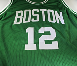 TERRY ROZIER III / AUTOGRAPHED BOSTON CELTICS CUSTOM BASKETBALL JERSEY / COA image 2