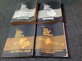 1976 Ford F100 F-150 250 350 Econoline Truck Service Shop Repair Manual Set OEM - $143.50