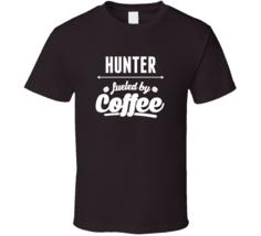 Funny Hunter Saying Gift T-shirt Camping Coffee Drinking Tee  T Shirt - $17.99+