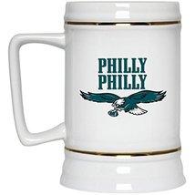 Philadelphia Eagles Beer Mug   Eagles Mug   PHILLY PHILLY Philadelphia Eagles    - $21.95