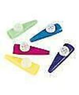 """24 - Assorted Color Large 3"""" Plastic Kazoos Bulk Wholesale - $8.79"""