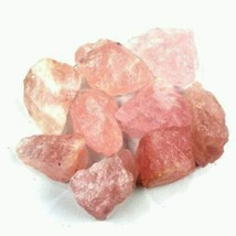 Natural Pink Rose Quartz Crystal Mineral 5 Lb Lots Gemstone - $82.27