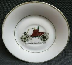 Vintage Napco China handpainted porcelain saucer Oldsmobile Runabout 1903 - $12.00