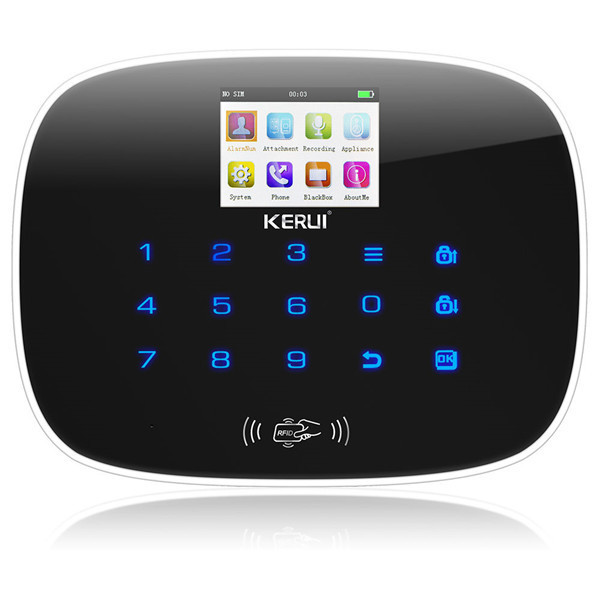 KERUI G19 IOS Android APP GSM Home Alarm System Door Window Sensor Pet Inmune PI