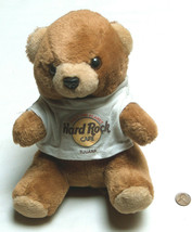 "HRC Hard Rock Cafe Tijuana 9"" Stuffed Plush Save The Planet Brown Bear w... - $14.83"