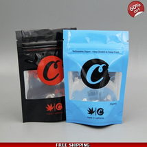 Classic SF Cookies Mylar Bags 3.5+g Size