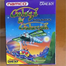 Galaga & Galaxian Gameboy Japan Import Complete Rare - $29.70