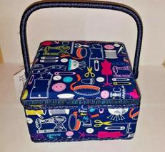"""Sewing Basket 10"""" x 10"""" x 6"""" - $98.01"""