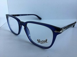 New Persol 3117-V 1015 Cobalto Blue 51mm Men's Eyeglasses Frame Italy - $80.74