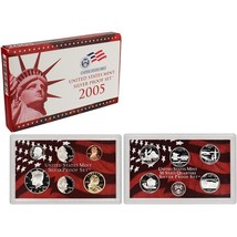 2005-S 90% Silver Proof Set United States Mint Original Government Packa... - $38.99