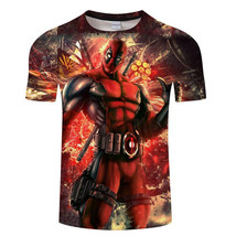 Deadpool Wade Wilson 3D Print All Over T-Shirt - $19.99+