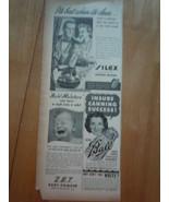Vintage Silex Ball & More Small Print Magazine Advertisement 1945 - $5.99