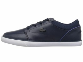 Lacoste Bayliss 318 2 Navy Dark Blue Men's Shoe Fashion Sneaker 36CAM000... - $83.95