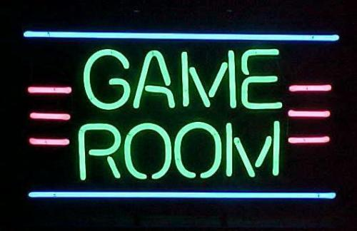 """New Game Room Open Man Cave Neon Light Sign 17""""x14"""" Free US Shipping"""
