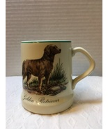 Vintage GOLDEN RETRIEVER Coffee Mug Dog Collectible Pottery Cup Decor or... - $9.00
