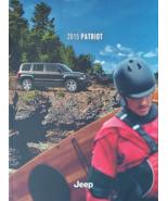 2015 Jeep PATRIOT brochure catalog US 15 Limited Latitude Sport - $6.00