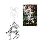 Prancing Reindeer Ornament: Friends Gather Hearts Warm - By Ganz - $9.95