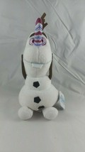 Disney Store Olaf's Frozen Adventure Olaf Plush Satin Candy Cane Nose NW... - $13.95