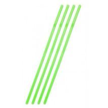 Straws Jumbo 44cm Neon Green pack of 25 - $3.19