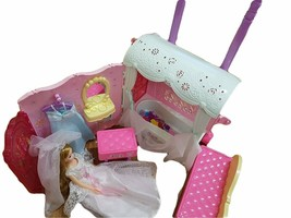 Mimi World Wedding Mimi Bedroom Doll Suitcase Carrier Case Roleplay Toy Playset image 2
