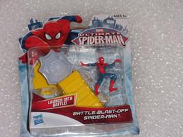 MARVEL SPIDER-MAN Finger Battle Blast-Off -Launch into Battle..New Sealed - $7.91