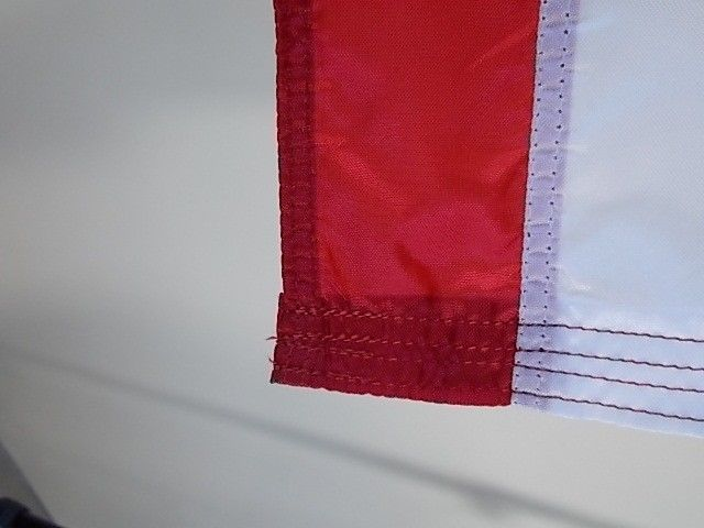 USA 2.5X4'FLAG NEW US MADE EMBROIDERED STARS SEWN NYLON