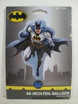 Qualatex DC Comics 46-Inch Batman Shaped Foil Balloon, Use Air or Helium - NEW - $6.36