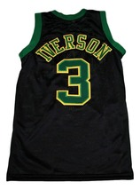 Allen Iverson #3 Bethel High School New Men Basketball Jersey Black Any Size image 2