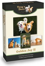 Golden Retriever Greeting Cards: Golden Joy II - $25.80