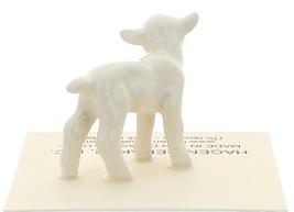Hagen-Renaker Miniature Ceramic Lamb Figurine Baby White Single image 3