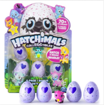Hatchimals Colleggtibles Mini 4 Pack Bonus - Hatchimal Colleggtible Seas... - $16.82
