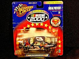 NASCAR Winner's Circle NASCAR Superman black # 3 Dale Earnhardt Limited Series image 4