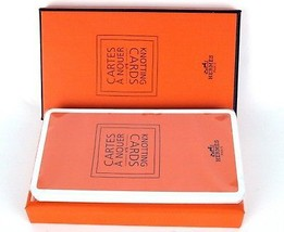 Auth Hermes Cartes a Nouer 21 Knotting Cards How to Knott Scarf / Scarves Guide - $98.01
