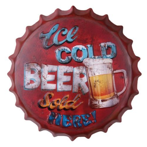Europe 42cm Beer Cap Wall Hanging Decoration    YY51026