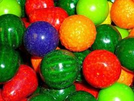 "SEEDLINGS 5 lbs DUBBLE BUBBLE 1"" CANDY FILLED GUMBALLS Bulk Vending Mach... - $19.15"