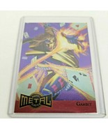 1995 gambit marvel metal gold blaster limited edition #4 of 18 great find - $54.00