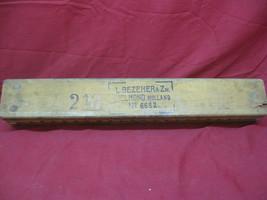 Antique VTG L Bezemer & Zn. Holland Cigar Mold Wooden Press Tobacco - $59.39