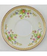 National China Japan Patricia Pattern Footed Cup Saucer Tableware Floral... - $4.99