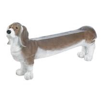 """*18074B  53"""" Long Basset Hound Doggy Bench Garden Yard Art - $252.55"""