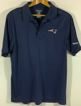 Reebok New England Patriots Men's Play Dry Polo/Golf Shirt Small - $11.87