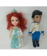 "My First Disney Princess 14"" Ariel & Eric The Little Mermaid Doll Weddin... - $49.49"